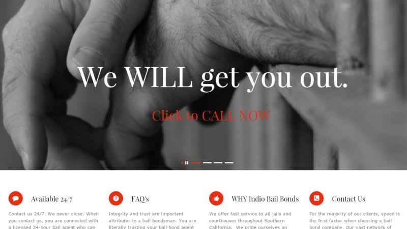 Indio Bail Bonds
